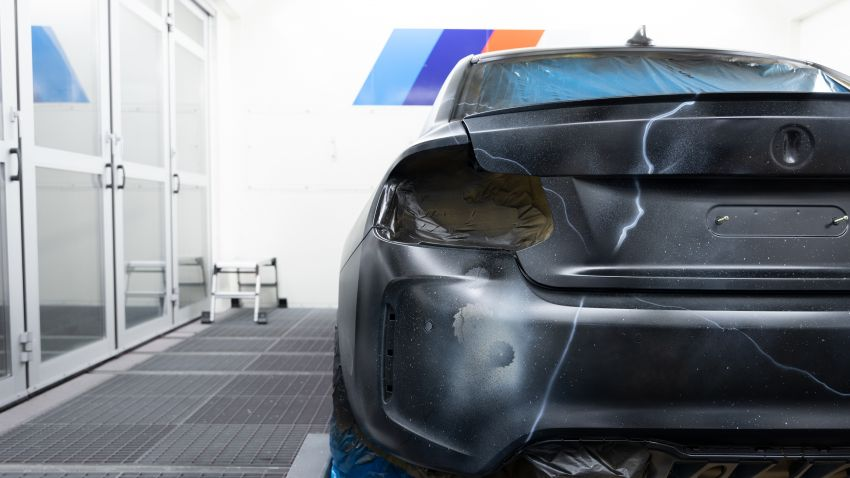BMW M2 Competition turned into art by Futura 2000 Image #1082146
