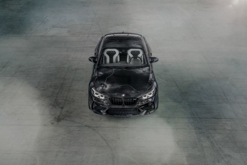BMW M2 Competition turned into art by Futura 2000 Image #1082073