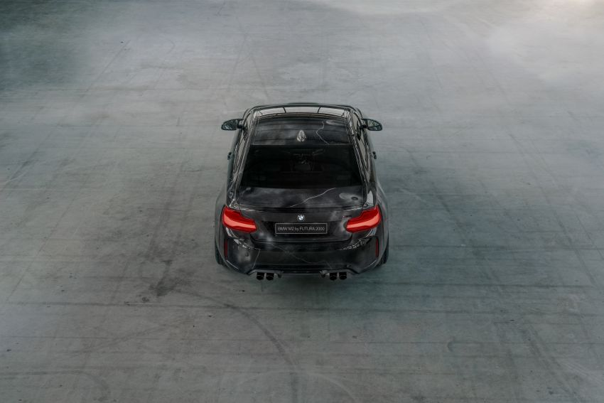 BMW M2 Competition turned into art by Futura 2000 Image #1082074