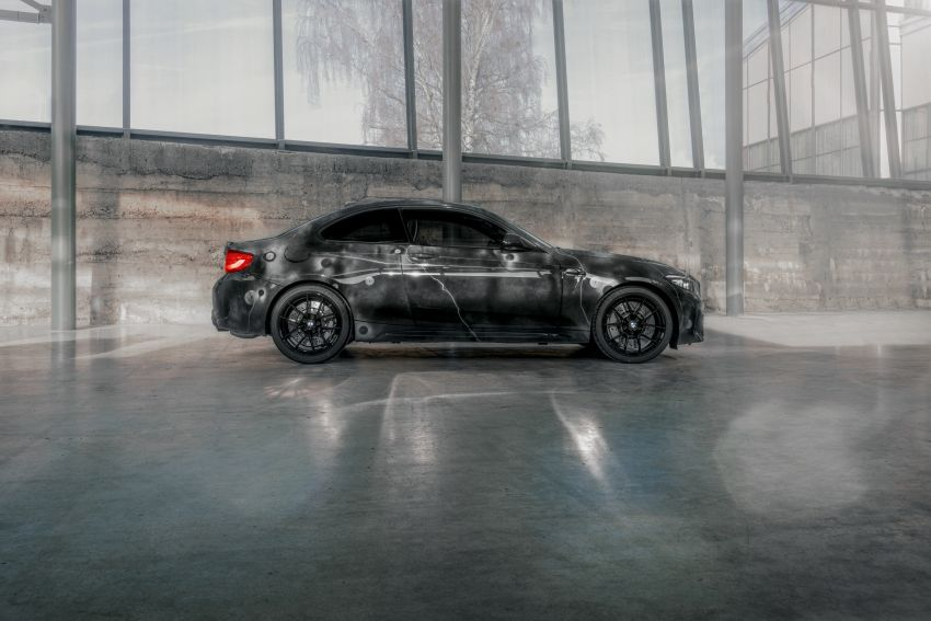 BMW M2 Competition turned into art by Futura 2000 Image #1082077