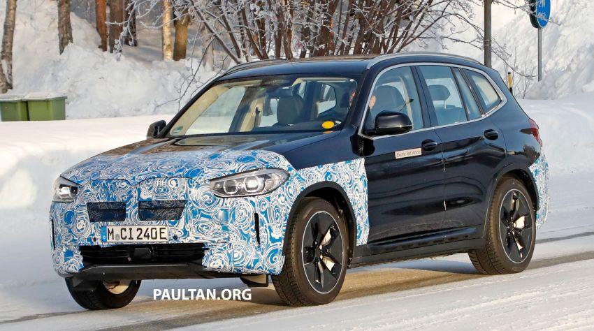 SPYSHOTS: BMW iX3 to debut at Geneva Motor Show? Image #1086535