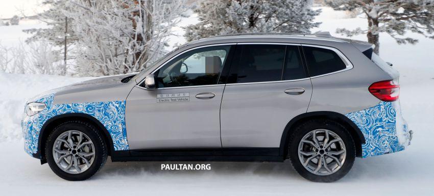 SPYSHOTS: BMW iX3 to debut at Geneva Motor Show? Image #1086524