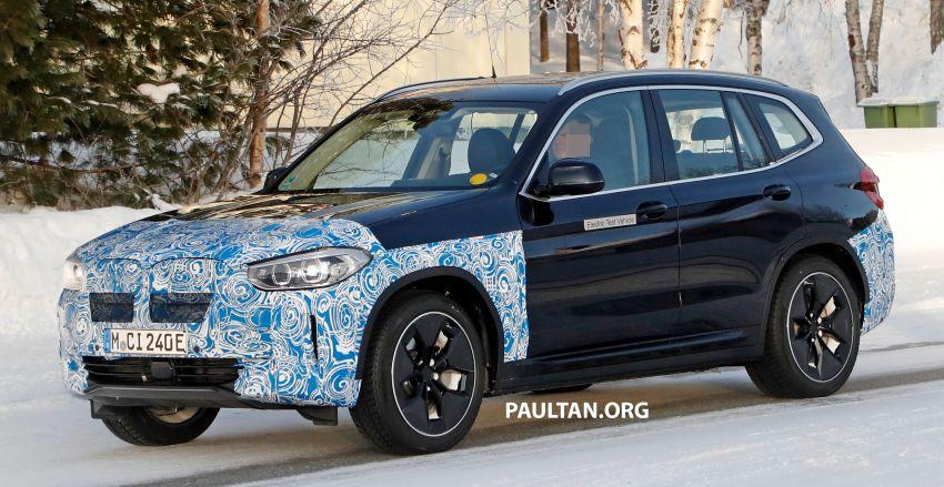 SPYSHOTS: BMW iX3 to debut at Geneva Motor Show? Image #1086534