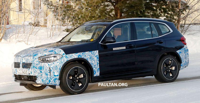 SPYSHOTS: BMW iX3 to debut at Geneva Motor Show? Image #1086533