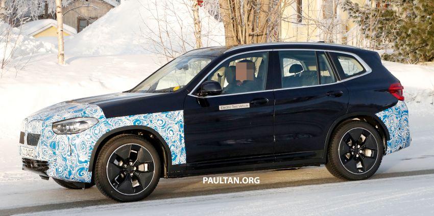 SPYSHOTS: BMW iX3 to debut at Geneva Motor Show? Image #1086532