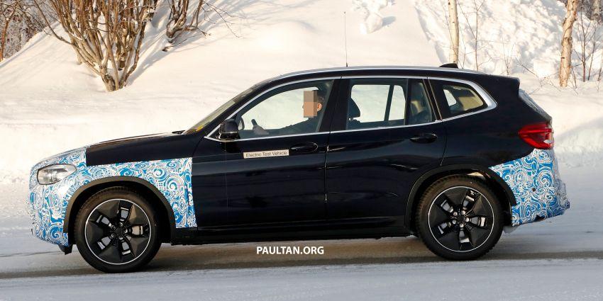 SPYSHOTS: BMW iX3 to debut at Geneva Motor Show? Image #1086531
