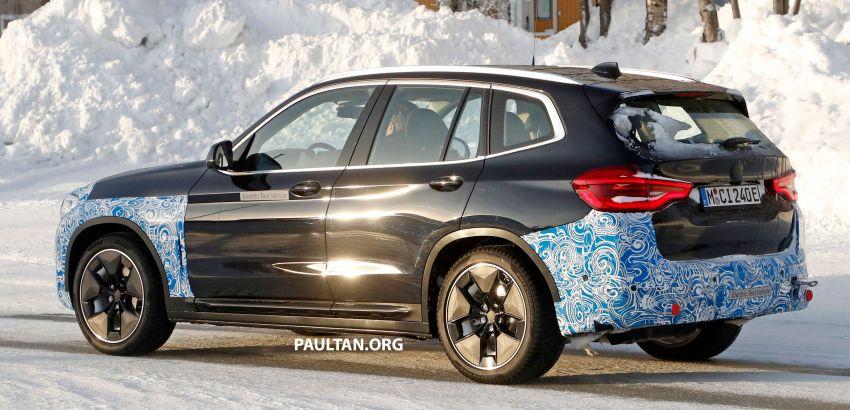 SPYSHOTS: BMW iX3 to debut at Geneva Motor Show? Image #1086530