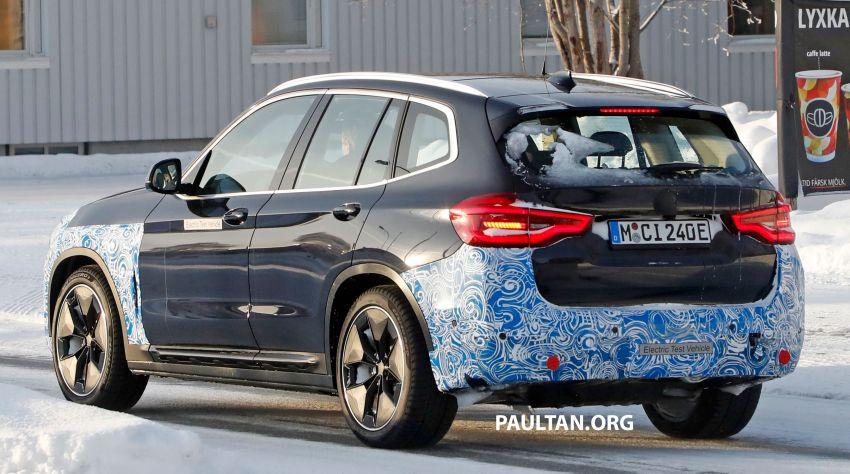 SPYSHOTS: BMW iX3 to debut at Geneva Motor Show? Image #1086528