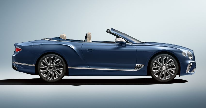 Bentley Continental GT Mulliner Convertible revealed Image #1084454