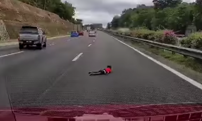 VIDEO: Boy flung out of car, lands on PLUS highway fast lane – street racing nearly claimed a young life Image #1080264