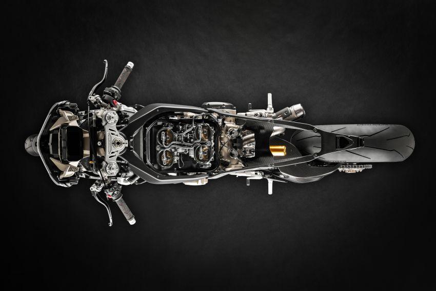 Ducati Panigale Superleggera V4 – superbike produksi paling berkuasa dan maju Ducati, casis gentian karbon Image #1078433