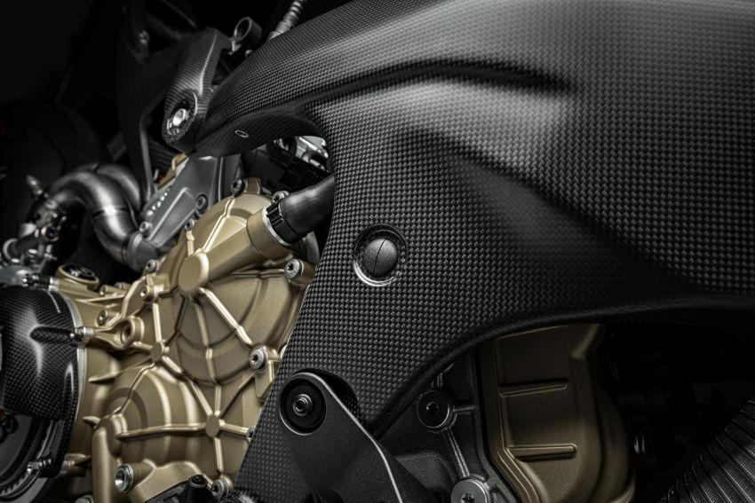 Ducati Panigale Superleggera V4 – superbike produksi paling berkuasa dan maju Ducati, casis gentian karbon Image #1078439