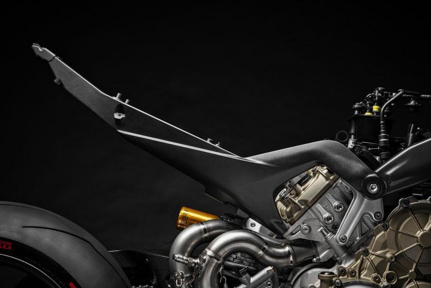 Ducati Panigale Superleggera V4 – superbike produksi paling berkuasa dan maju Ducati, casis gentian karbon Image #1078440