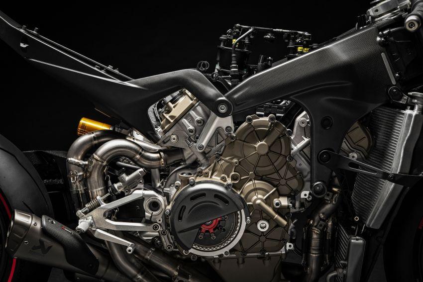 Ducati Panigale Superleggera V4 – superbike produksi paling berkuasa dan maju Ducati, casis gentian karbon Image #1078443