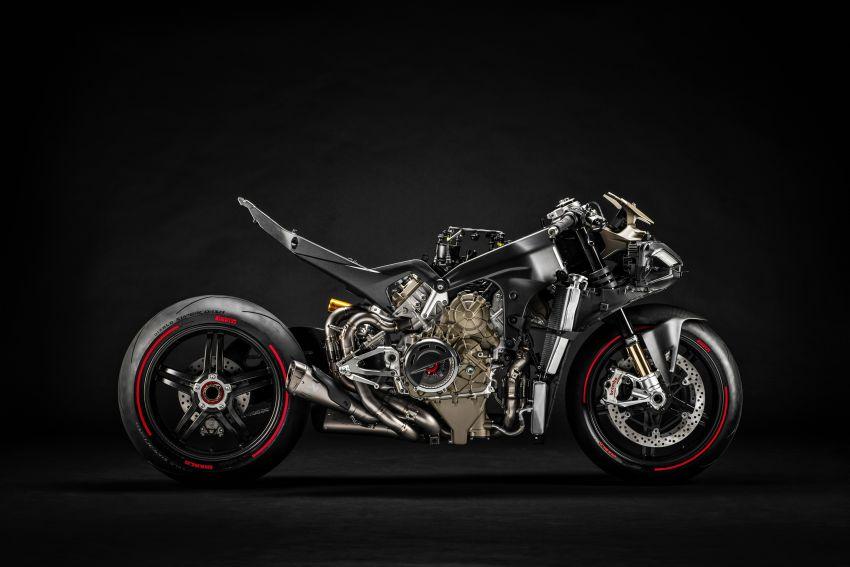Ducati Panigale Superleggera V4 – superbike produksi paling berkuasa dan maju Ducati, casis gentian karbon Image #1078445