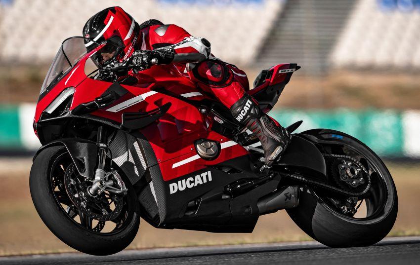 Ducati Panigale Superleggera V4 – superbike produksi paling berkuasa dan maju Ducati, casis gentian karbon Image #1078448