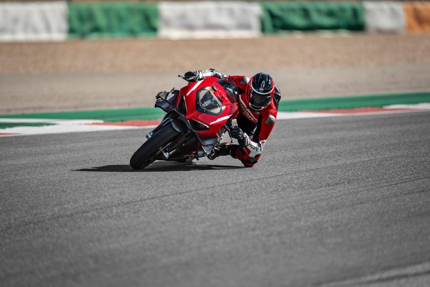 Ducati Panigale Superleggera V4 – superbike produksi paling berkuasa dan maju Ducati, casis gentian karbon Image #1078451