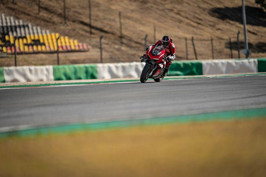 Ducati Panigale Superleggera V4 – superbike produksi paling berkuasa dan maju Ducati, casis gentian karbon Image #1078452