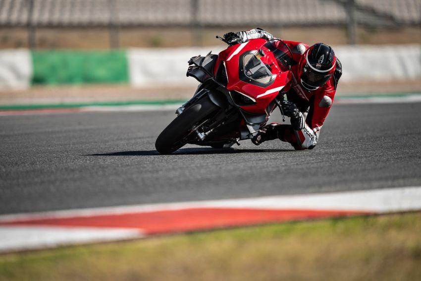 Ducati Panigale Superleggera V4 – superbike produksi paling berkuasa dan maju Ducati, casis gentian karbon Image #1078453