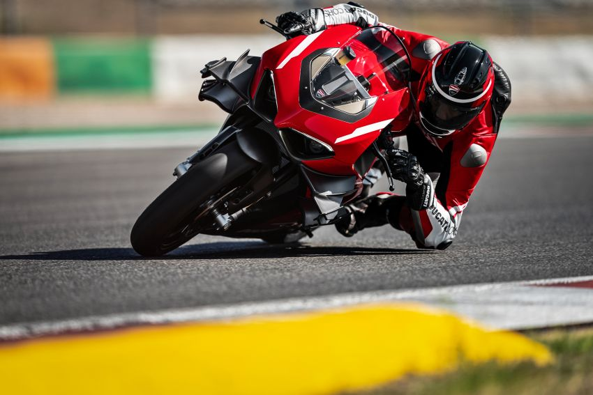 Ducati Panigale Superleggera V4 – superbike produksi paling berkuasa dan maju Ducati, casis gentian karbon Image #1078454