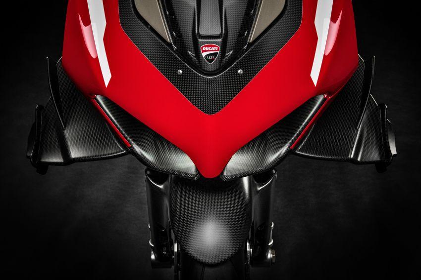 Ducati Panigale Superleggera V4 – superbike produksi paling berkuasa dan maju Ducati, casis gentian karbon Image #1078462