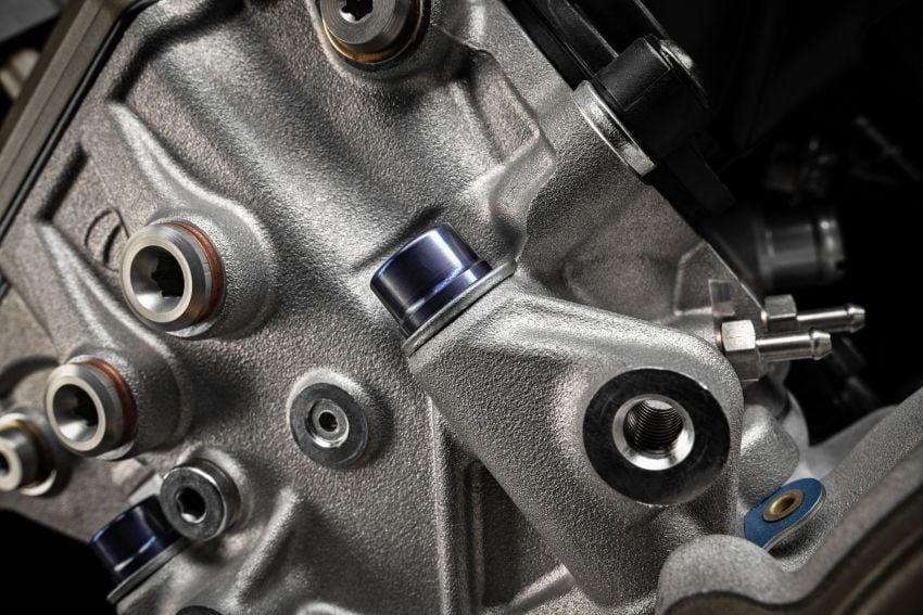 Ducati Panigale Superleggera V4 – superbike produksi paling berkuasa dan maju Ducati, casis gentian karbon Image #1078470