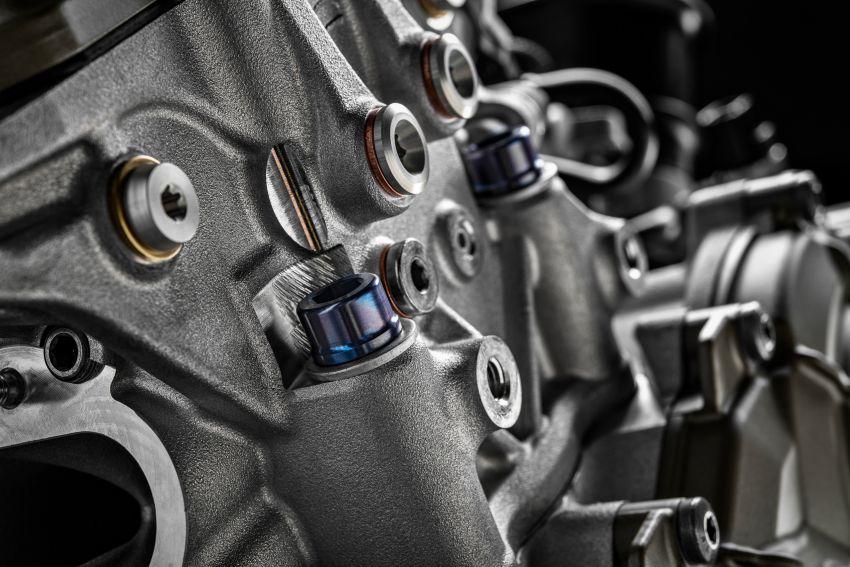 Ducati Panigale Superleggera V4 – superbike produksi paling berkuasa dan maju Ducati, casis gentian karbon Image #1078473