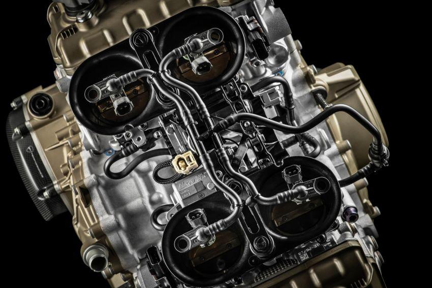Ducati Panigale Superleggera V4 – superbike produksi paling berkuasa dan maju Ducati, casis gentian karbon Image #1078476