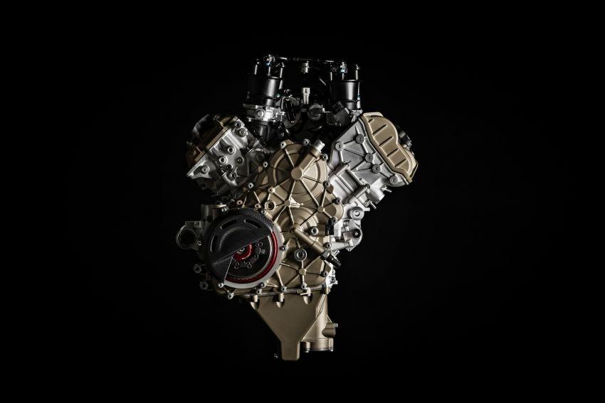 Ducati Panigale Superleggera V4 – superbike produksi paling berkuasa dan maju Ducati, casis gentian karbon Image #1078477