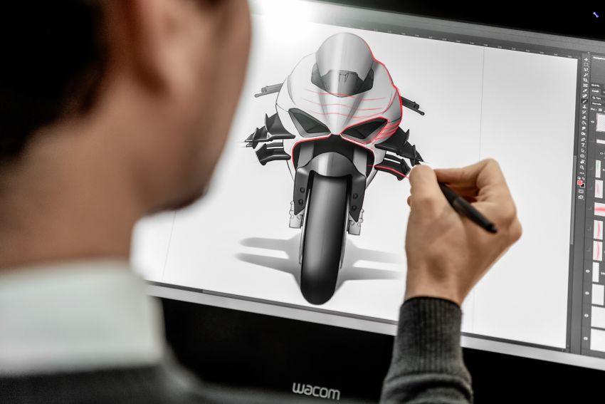 Ducati Panigale Superleggera V4 – superbike produksi paling berkuasa dan maju Ducati, casis gentian karbon Image #1078479