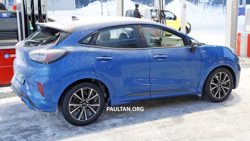 SPIED: Ford Puma ST caught completely undisguised Image #1082195