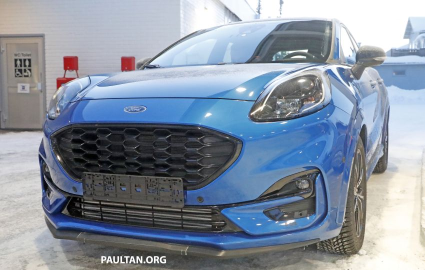 SPIED: Ford Puma ST caught completely undisguised Image #1082190