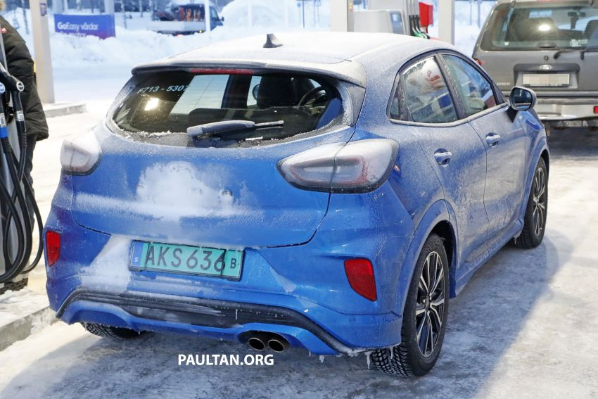 SPIED: Ford Puma ST caught completely undisguised Image #1082194