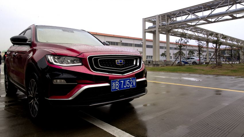 DRIVEN: 2020 Proton X70 CKD seven-speed wet DCT Image #1076123
