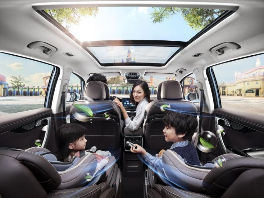 All Geely cars to come with Intelligent Air Purification System (IAPS) from March, same level as N95 mask Image #1081651