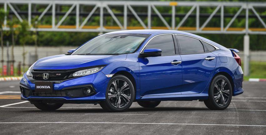 DRIVEN: 2020 Honda Civic facelift – same, but more Image #1087009