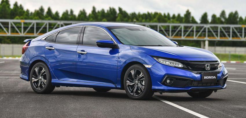 DRIVEN: 2020 Honda Civic facelift – same, but more Image #1087010