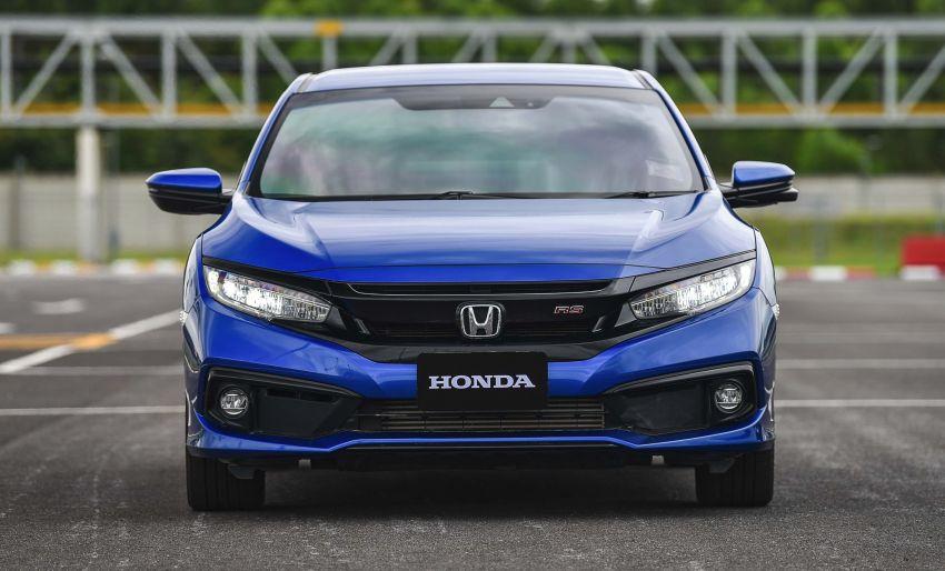 DRIVEN: 2020 Honda Civic facelift – same, but more Image #1087013