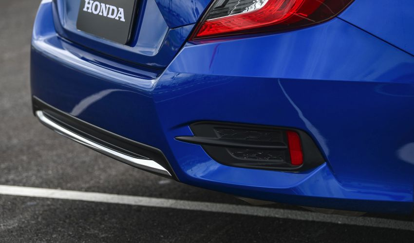 DRIVEN: 2020 Honda Civic facelift – same, but more Image #1087019