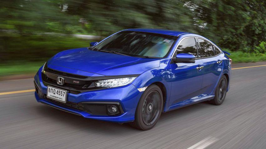 DRIVEN: 2020 Honda Civic facelift – same, but more Image #1087022