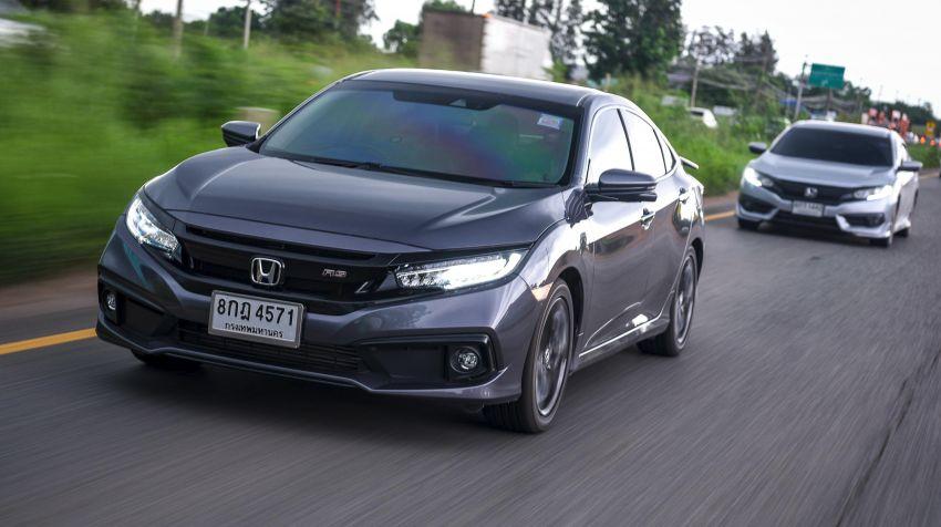 DRIVEN: 2020 Honda Civic facelift – same, but more Image #1087024