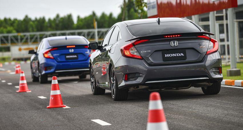 DRIVEN: 2020 Honda Civic facelift – same, but more Image #1087028