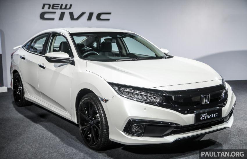 Honda Civic 2020 diperkenalkan secara rasmi di M'sia – dengan Honda Sensing, harga bermula RM113,600 Image #1087633