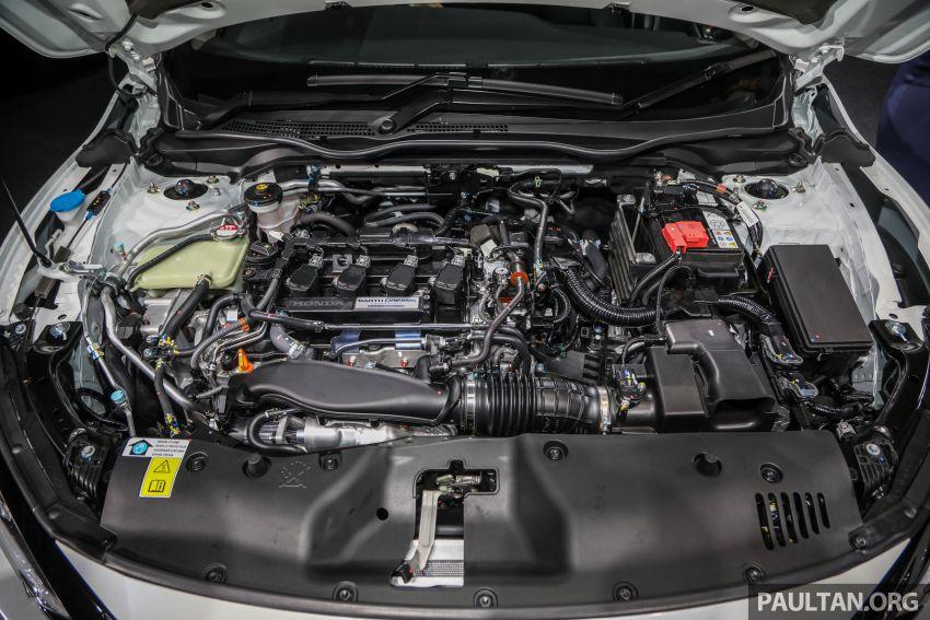 Honda Civic 2020 diperkenalkan secara rasmi di M'sia – dengan Honda Sensing, harga bermula RM113,600 Image #1087652