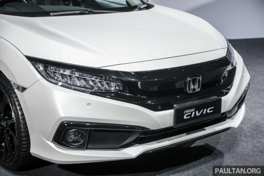 2020 Honda Civic facelift debuts in Malaysia – three variants, 1.8 NA and 1.5 Turbo, RM114k to RM140k Image #1087372