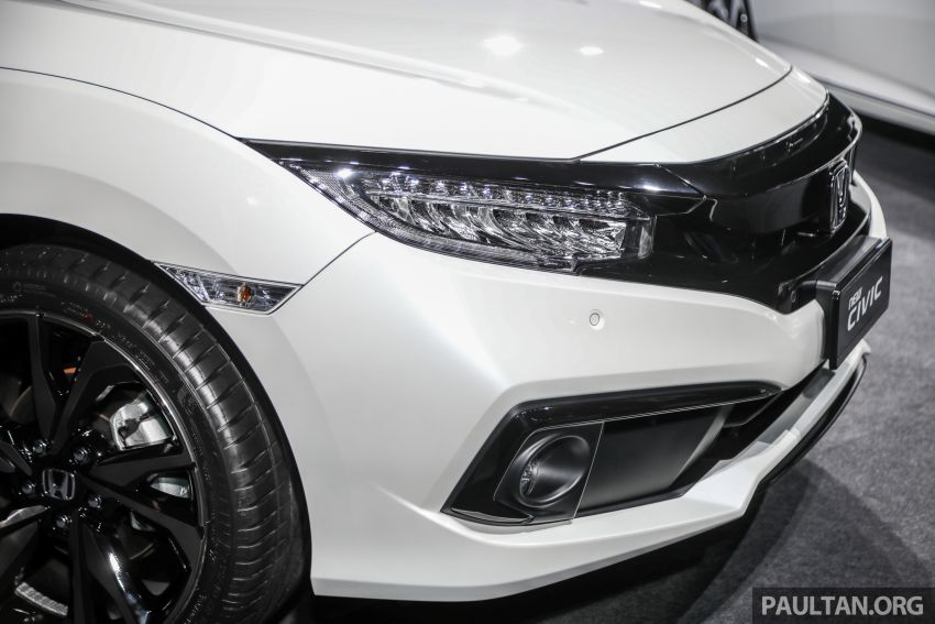 2020 Honda Civic facelift debuts in Malaysia – three variants, 1.8 NA and 1.5 Turbo, RM114k to RM140k Image #1087374