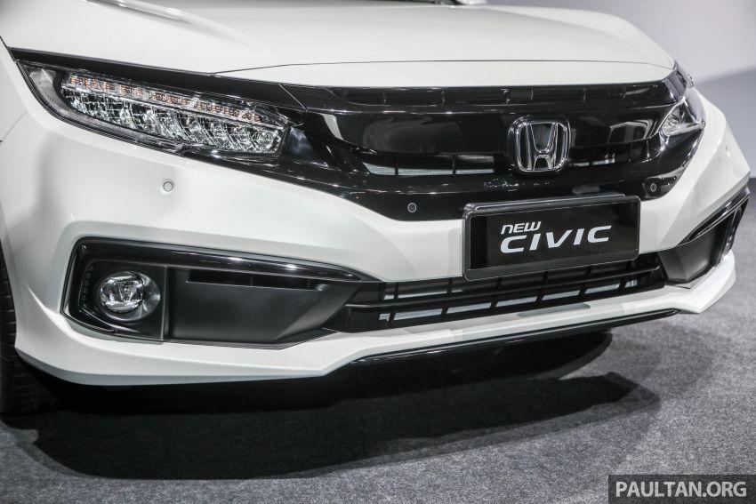 2020 Honda Civic facelift debuts in Malaysia – three variants, 1.8 NA and 1.5 Turbo, RM114k to RM140k Image #1087375