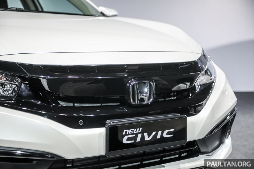 2020 Honda Civic facelift debuts in Malaysia – three variants, 1.8 NA and 1.5 Turbo, RM114k to RM140k Image #1087377
