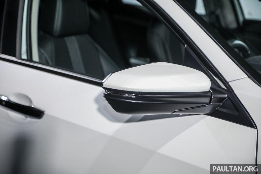 Honda Civic 2020 diperkenalkan secara rasmi di M'sia – dengan Honda Sensing, harga bermula RM113,600 Image #1087642