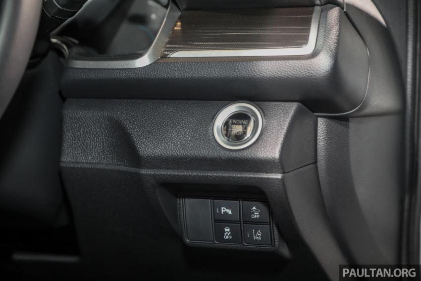Honda Civic 2020 diperkenalkan secara rasmi di M'sia – dengan Honda Sensing, harga bermula RM113,600 Image #1087663